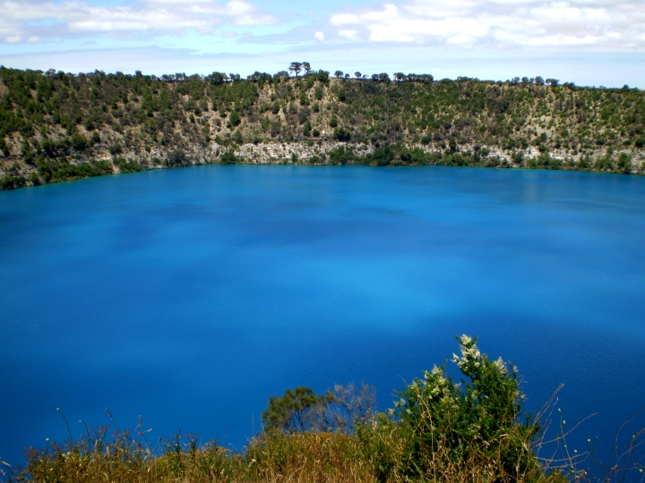The Blue Lake, South Australia